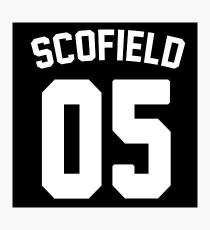 Jersey: Michael Scofield  Photographic Print