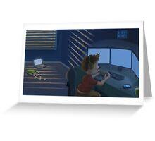 Video Gamer Greeting Card