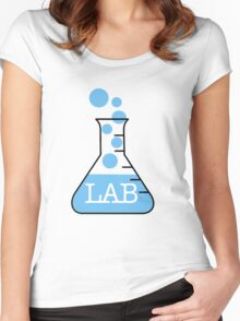 Lab Bike Logo Women's Fitted Scoop T-Shirt