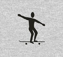 Sport skating silhouette Unisex T-Shirt