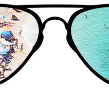 Sunglasses - Tropical Sticker