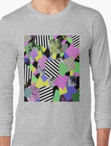 Crazy Squares Long Sleeve T-Shirt