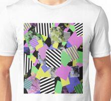 Crazy Squares Unisex T-Shirt