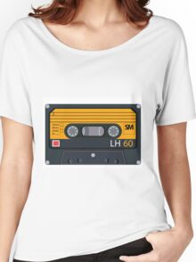 vintage audio tapes Women's Relaxed Fit T-Shirt