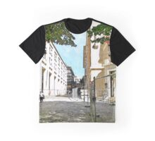 L'Aquila: street and buildings Graphic T-Shirt