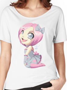Portal: Companion Cube Women's Relaxed Fit T-Shirt