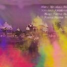 HOLI Indian Color Festival Mantra  by Heather Friedman