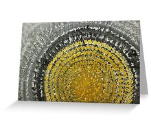 Winter Sun original painting Greeting Card