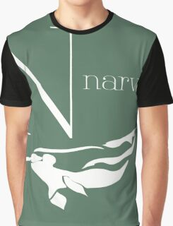 ABC-Book French narwhal Graphic T-Shirt