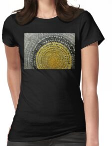 Winter Sun original painting Womens Fitted T-Shirt