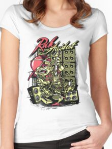 Rock Accident Women's Fitted Scoop T-Shirt
