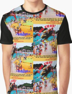 King Crab, The 50's Movie Poster Graphic T-Shirt
