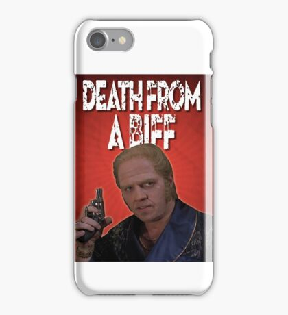 Death from a Biff! iPhone Case/Skin