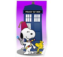 Snoopy  doctor who Poster