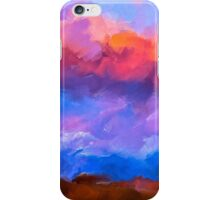 Boundless Dreams - Colorful Abstract Landscape iPhone Case/Skin
