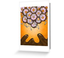 Donuts and Coffee Greeting Card