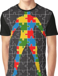 puzzle human body Graphic T-Shirt