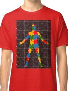 puzzle human body Classic T-Shirt