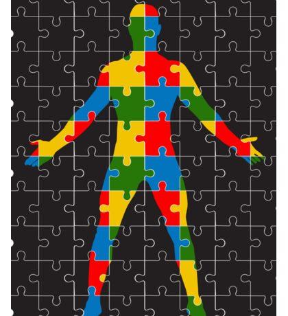 puzzle human body Sticker