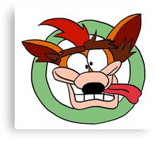 Crash Bandicoot Canvas Print
