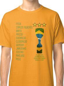 Brazil 1970 World Cup Final Winners Classic T-Shirt