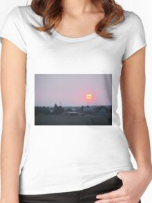 Sun Farm Women's Fitted Scoop T-Shirt