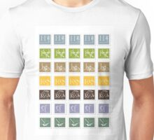 ABC-Book French Stamps #2 Unisex T-Shirt