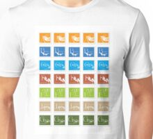 ABC-Book French Stamps #3 Unisex T-Shirt