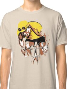 The yellow Jersey, the champ, retro style cycling Classic T-Shirt
