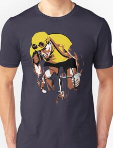 The yellow Jersey, the champ, retro style cycling Unisex T-Shirt