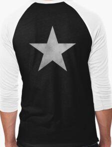 Black ★ Rock Shooter Star Men's Baseball ¾ T-Shirt