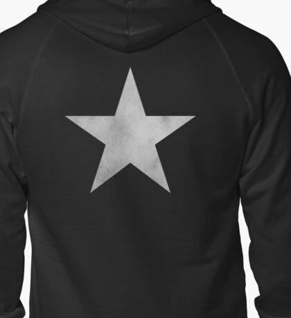 Black ★ Rock Shooter Star Zipped Hoodie