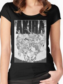 AKIRA - LOGO TSHIRT (HIGH QUALITY) Women's Fitted Scoop T-Shirt