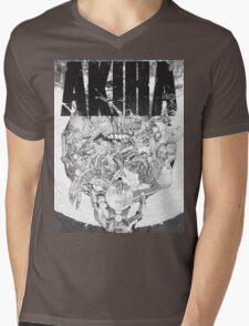 AKIRA - LOGO TSHIRT (HIGH QUALITY) Mens V-Neck T-Shirt