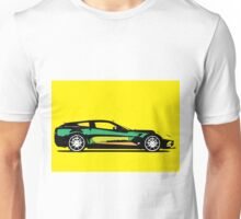 Pop art car Unisex T-Shirt