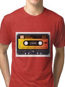 vintage audio tapes Tri-blend T-Shirt