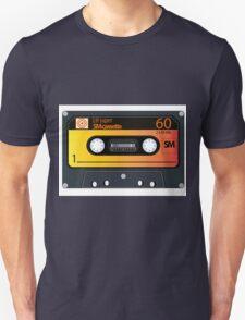 vintage audio tapes Unisex T-Shirt