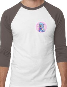 Vivi Button Men's Baseball ¾ T-Shirt