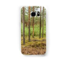 Trees in forest Samsung Galaxy Case/Skin