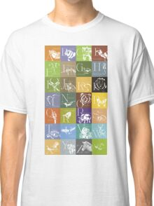 ABC-Book French Animal Classic T-Shirt