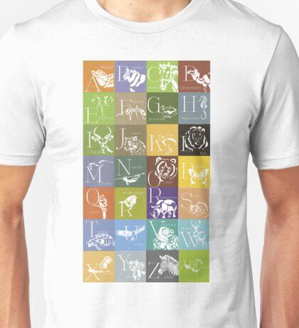 ABC-Book French Animal Unisex T-Shirt