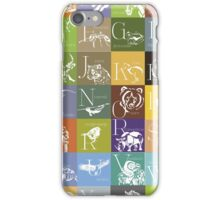 ABC-Book French Animal iPhone Case/Skin