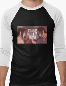 Straight Outta Uchiwa Men's Baseball ¾ T-Shirt