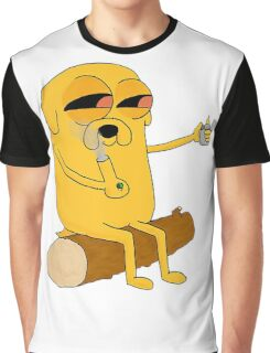 Jake Adventure Time High Graphic T-Shirt