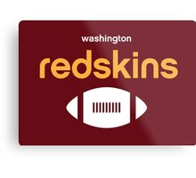 Washington Redskins Metal Print