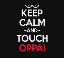 Keep Calm and Touch Oppai Anime Manga Shirt Unisex T-Shirt