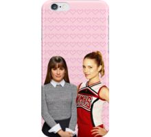 It all startd with a Blonde and a Brunette | Faberry iPhone Case/Skin