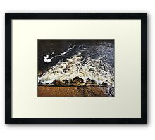 Running Water at Bolton Abbey, Yorkshire Framed Print