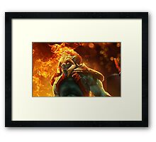 Huskar Iphone Case Framed Print