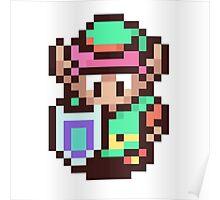 The Legend of Zelda - Link Pixel Art Poster